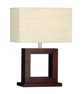 Lampe de table Window, en bois