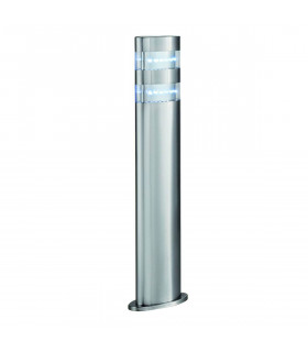 Borne 45 cm Led Outdoor, en acier inoxydable et polycarbonate
