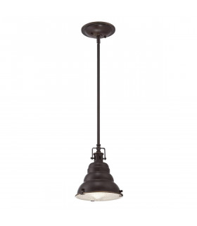 Suspension Eastvale, bronze palladien, 1 ampoule, moyenne