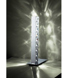 Lampe de Table Galaxy 3W LED 6000K chrome poli/cristal