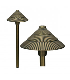 Borne Bronze16, bronze antique, Led