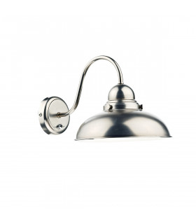 Applique murale Dynamo chrome antique et  1 ampoule