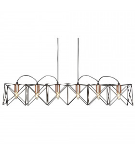 Suspension Miami, blanc, 3 ampoules